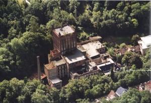 Hildebrand Mühle August 1999 Luftbild Wolf-Rüdiger Pfrang