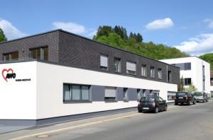 Das neue Gebäude im Müllheimer Tal. (Bild: Stadt Weinheim)