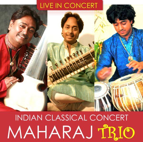 Maharaj Trio live in concert